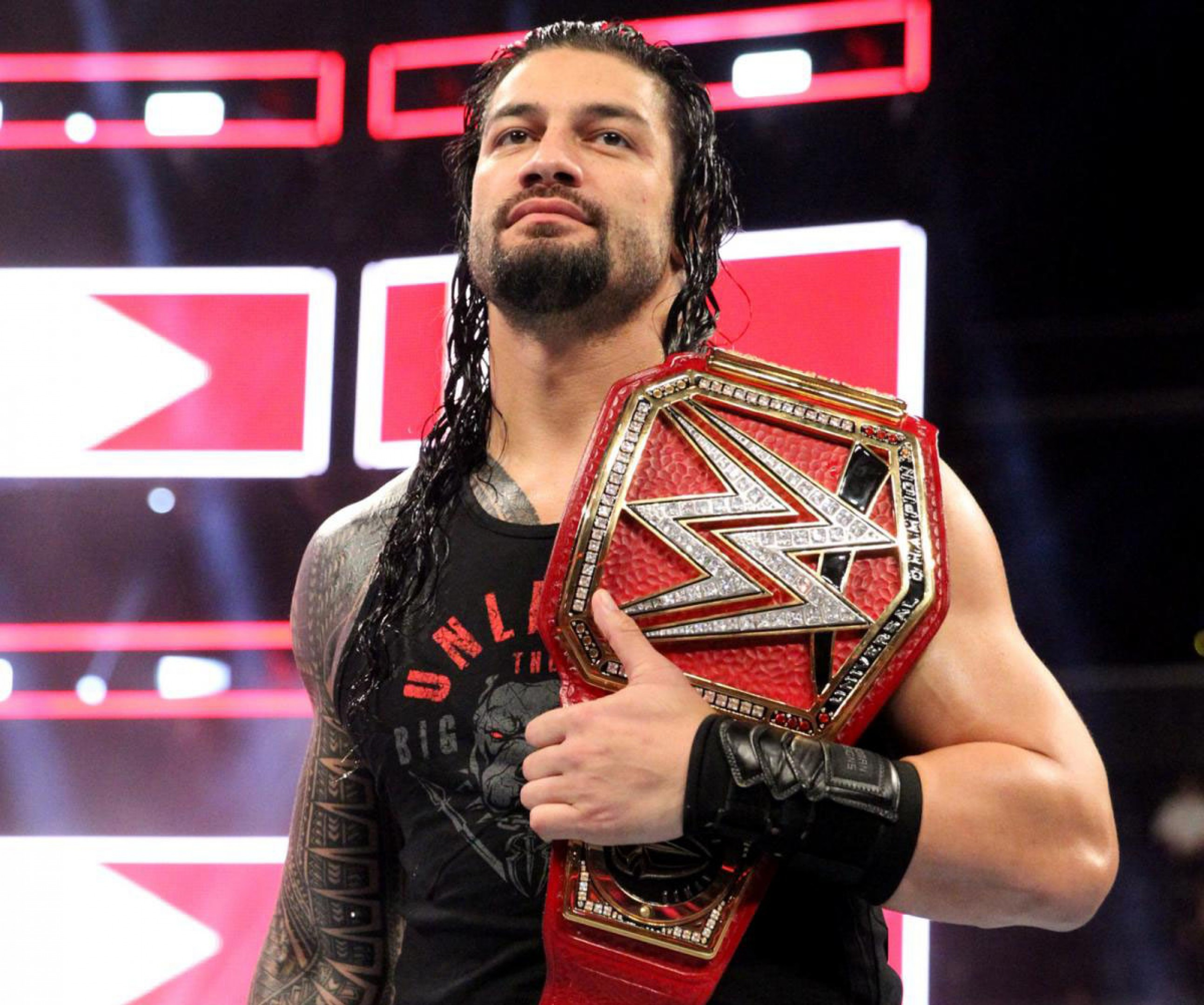 Wwe Universal Champion Roman Reigns 2018 4k Freshwidewallpapers