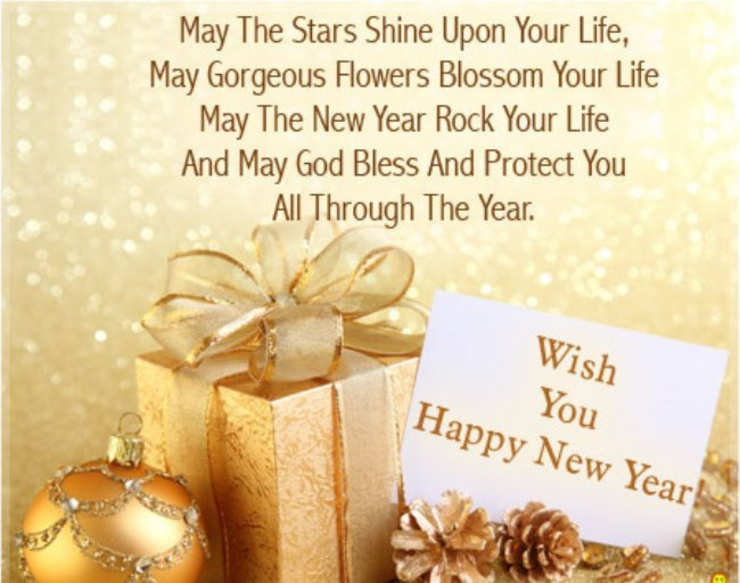 Wishes Greetings Quotes Happy New Year Photo Freshwidewallpapers