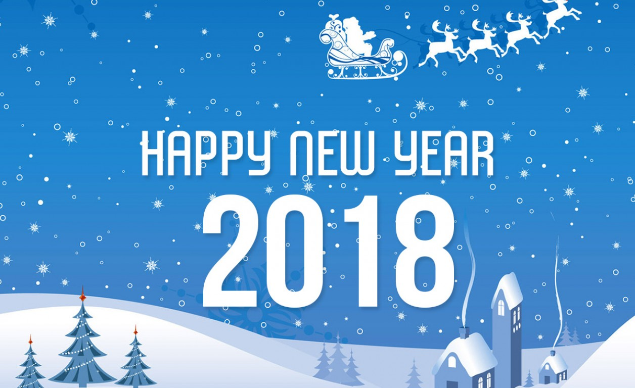 happy new year 2018 ecards hd wallpaper popular desktop resolutions 1336x768