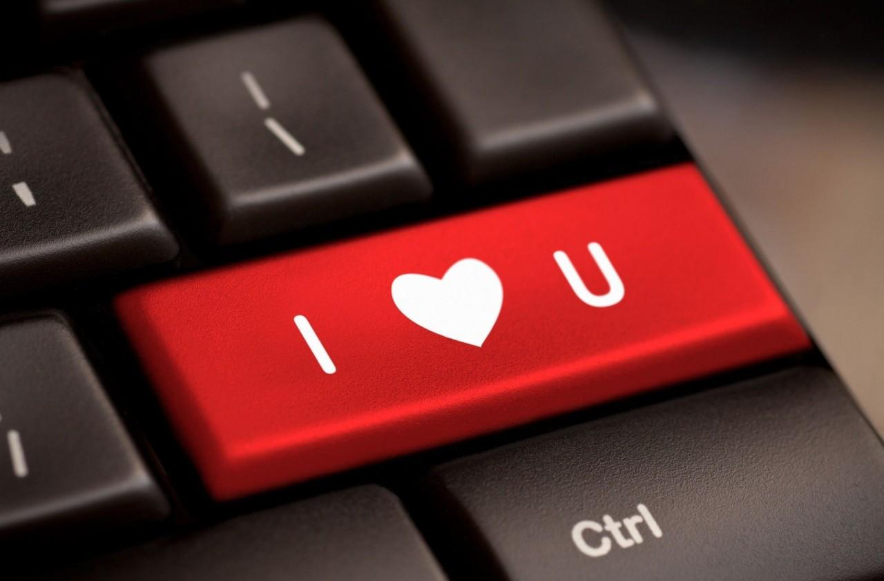 I Love You Widescreen Full Screen Mood Heart Background Love
