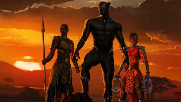 Black Panther Movie Poster Hd Wallpaper Freshwidewallpapers Com
