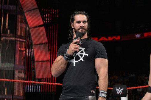 Seth Rollins In Tshirt 4k Wallpaper Freshwidewallpaperscom 4k