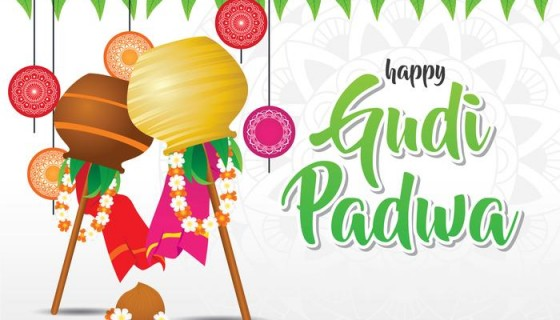 gudi padwa celebration backgro…