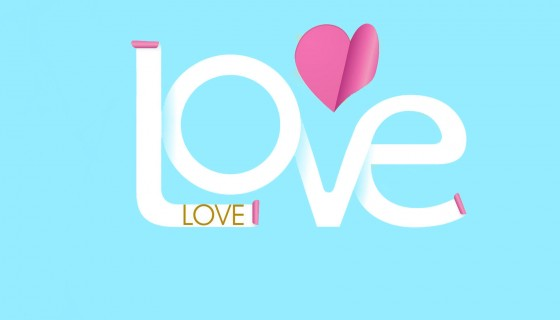 Love Stylish Text HD Wallpaper