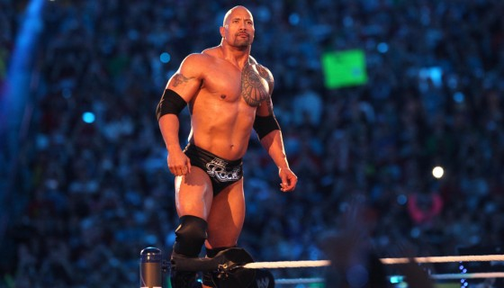 wwe the rock wrestlemania…