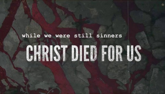 christ died for us quote …