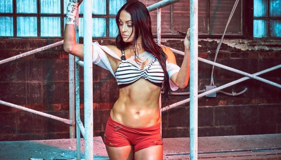 Nikki Bella Fearless photoshoo…