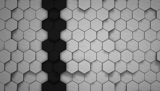 Hexagon Tile abstract Des…