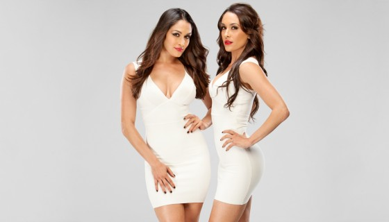 Bella Twins white dress h…