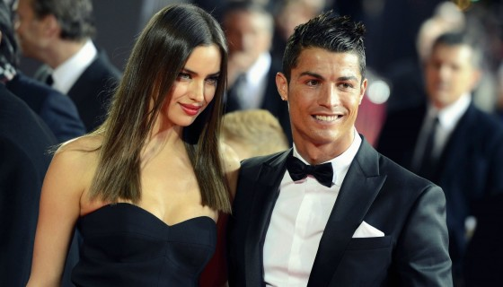 ronaldo with beautiful gi…
