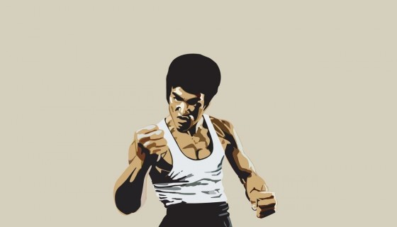 Bruce Lee art wallpaper