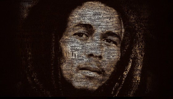 Bob Marley typography hd wallp…
