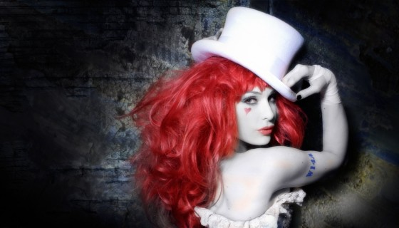 Emilie Autumn black white colo…