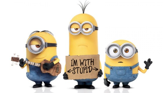 Minions Cartoon wide wallpaper
