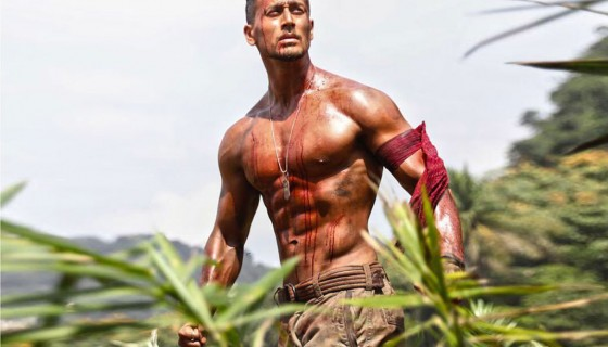 tiger shroff abs pack in baagh…