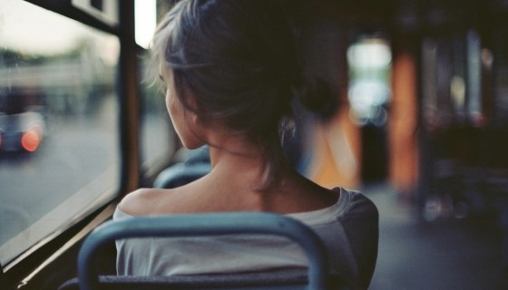 Traveling Alone girl back…