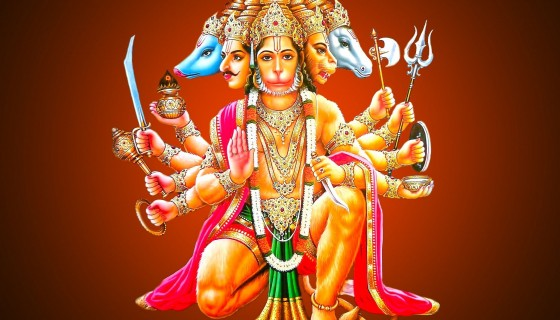 Panchmukhi lord Hanuman hd wal…