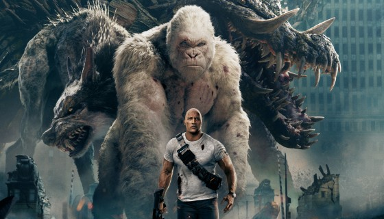 rampage movie dwayne johnson 4…