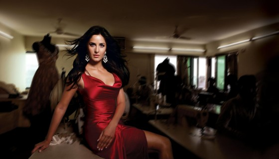 Katrina Kaif in Red Dress…