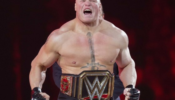 WWE Champ Brock Lesnar