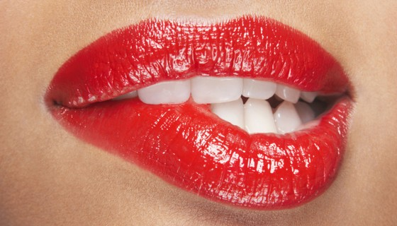 red lips sexy girl lipsti…