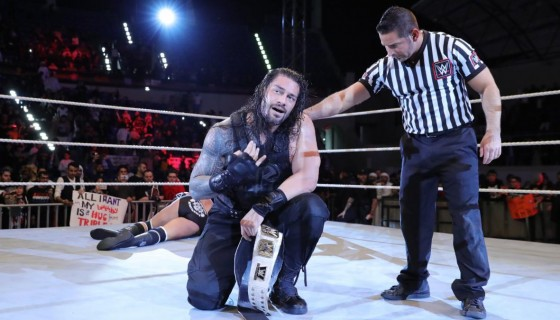 Roman Reigns vs Triple H the I…