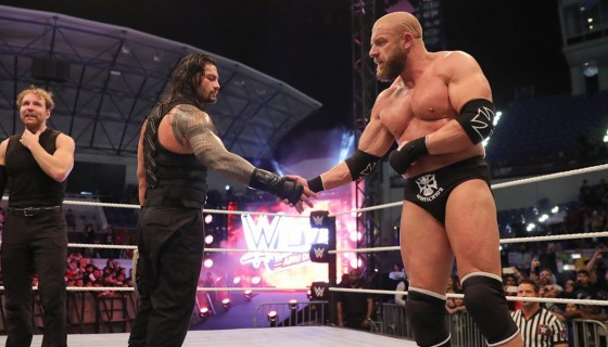 Triple H and Roman Reigns hd w…