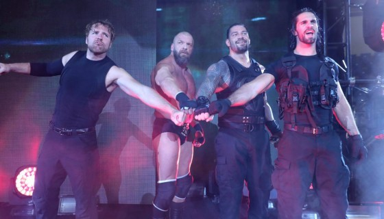 Triple H and The Shield wwe te…