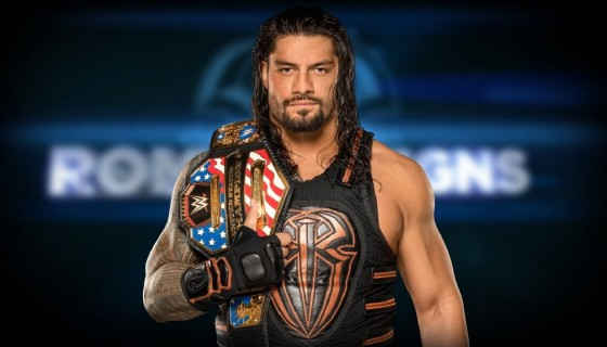 US Champion WWE Roman Reigns