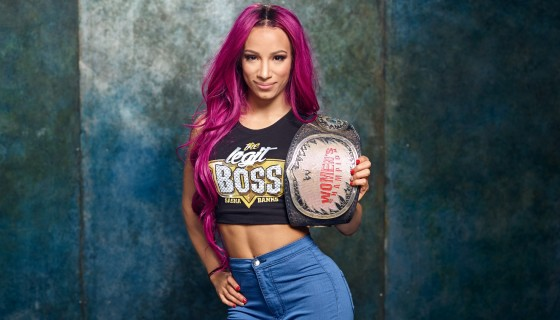 Sasha Banks womens champion
