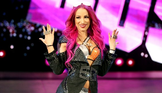 Sasha Banks the boss wwe …