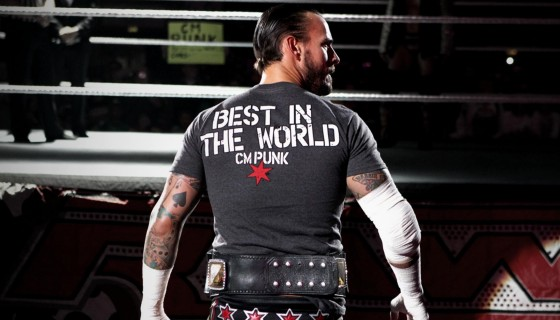 C M Punk best in the world