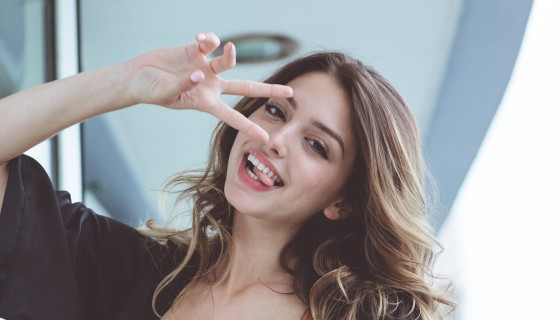 celine farach cute smile fun m…