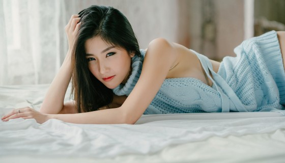 Asian beautiful model cute smi…