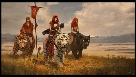 women artwork fantasy art tige…