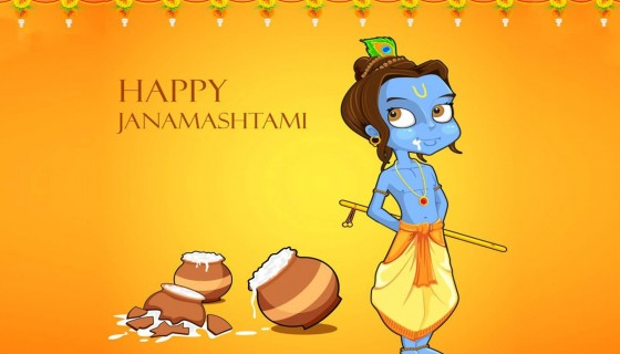 Happy Janmashtami wallpap…