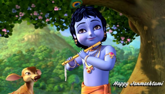 Happy Janmashtami little krish…