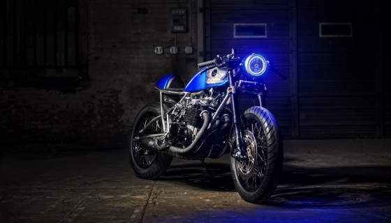 blue light blue bike moto…
