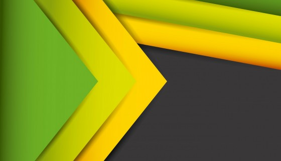abstract lines yellow green bl…