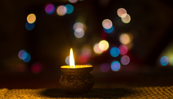 diwali lamp 4k wallpaper