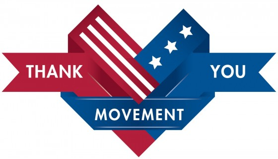 Veterans Day Thank you movemen…