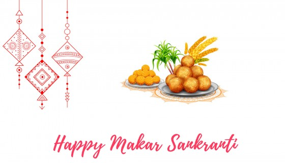 Happy Makar Sankranti 4k wallp…