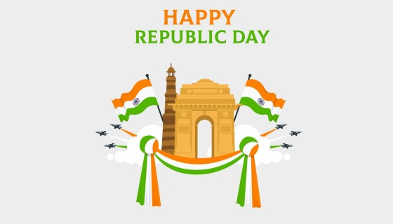 Proud To Be Indian Happy Repub…