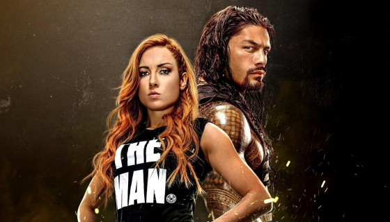WWE Roman Reigns and Becky Lyn…