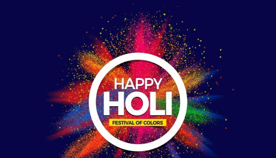 Happy Holi Festival of Colors …
