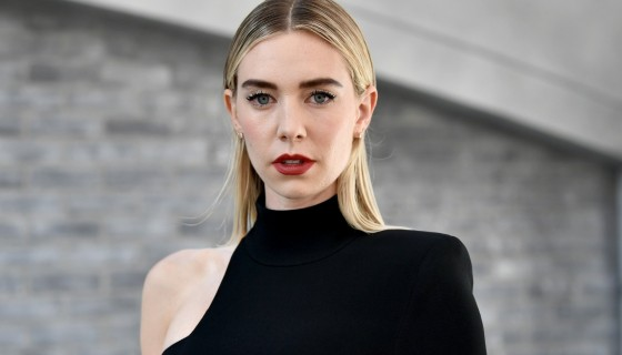 Vanessa Kirby red lips bl…