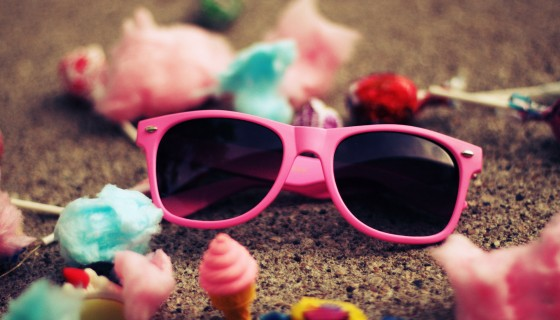 pink sunglass for girls fashio…