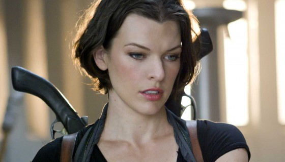 Milla Jovovich guns action hol…