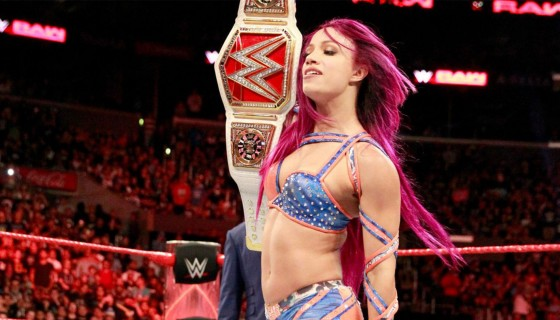 WWE Raw Sasha Banks champ…
