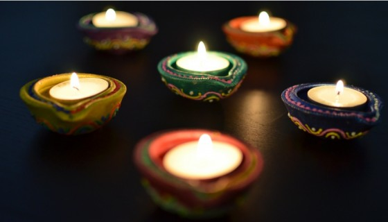 diwali clay lamps diya hd wall…